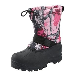 NORTHSIDE | Insulated Winter Snow Boot Pink Camo 6